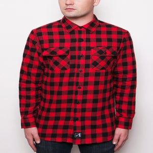 Image of Black/Red Flannel