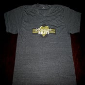 Image of *PreOrder* Sweethearts Salute Logo Mens Tshirt (tri-blend black)