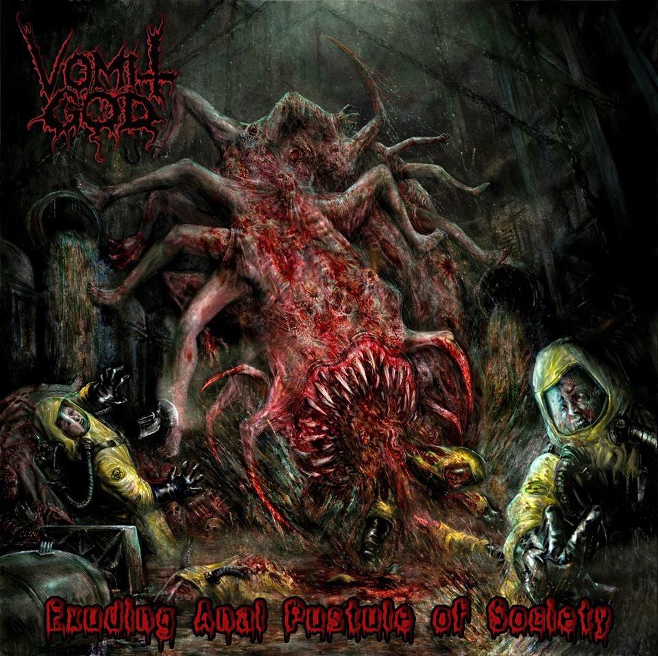 Image of VOMIT GOD - Exuding Anal Pustule of Society CD