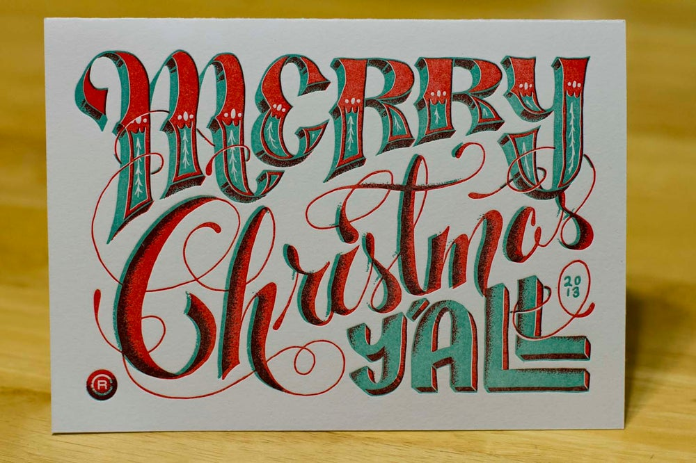 Image of Merry Christmas Y'all (by Christopher Rushing)