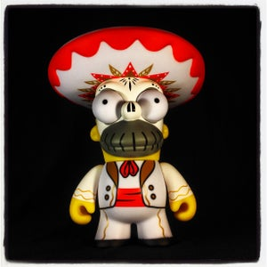 Image of Kidrobot x The Simpsons Day Of The Dead Homer