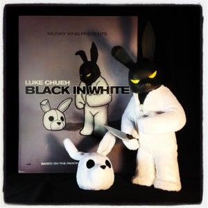 Image of Black In White x Luke Chueh x Munky King