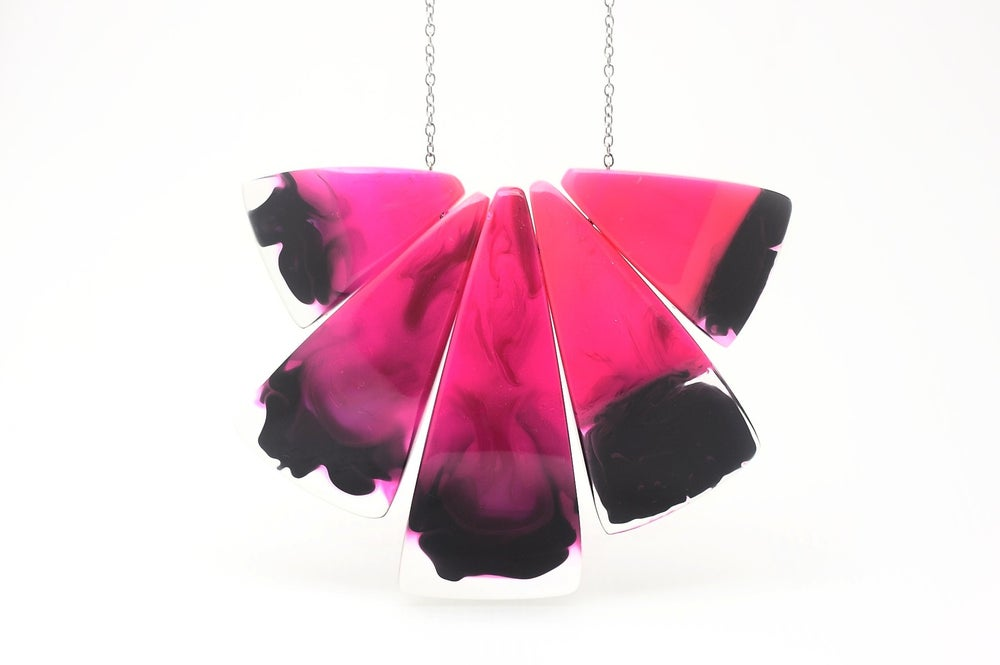 Image of Cerise Anvil Necklace