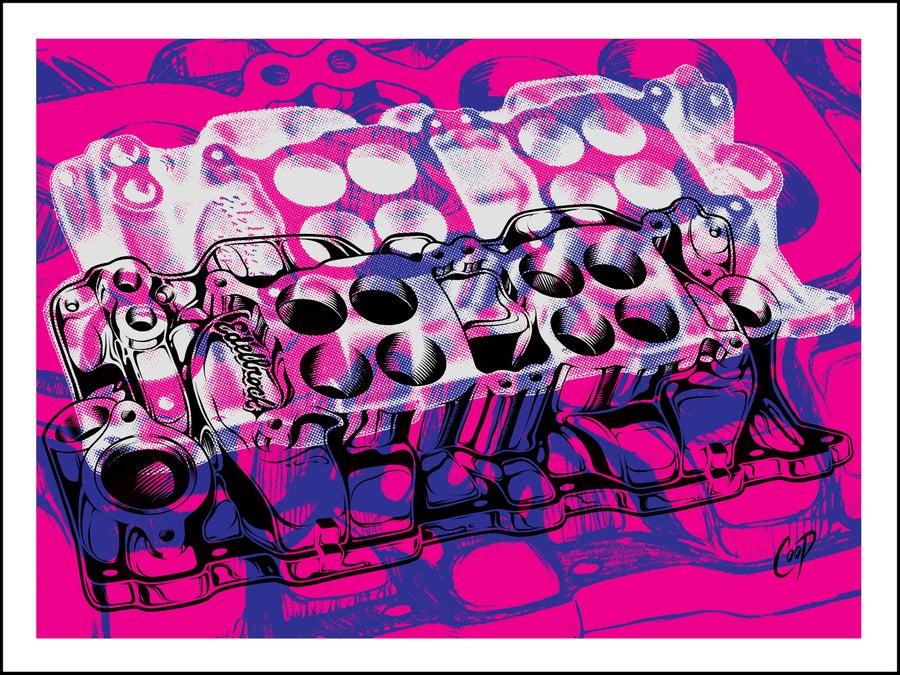 Image of MANIFOLD Silkscreen Print