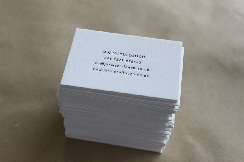 Letterpress business cards and wedding invitations maple tea image of letterpress business cards on pure white cotton stock made to order reheart Gallery
