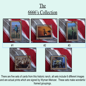 Image of The 6666's Greeting Card Collection