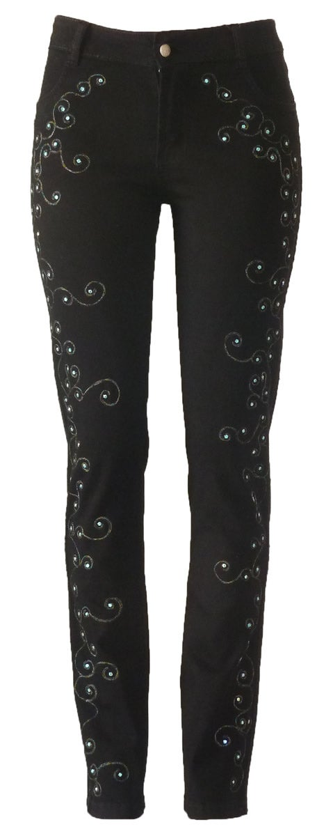 Image of Cornelly Swirled Jeans 13W135P