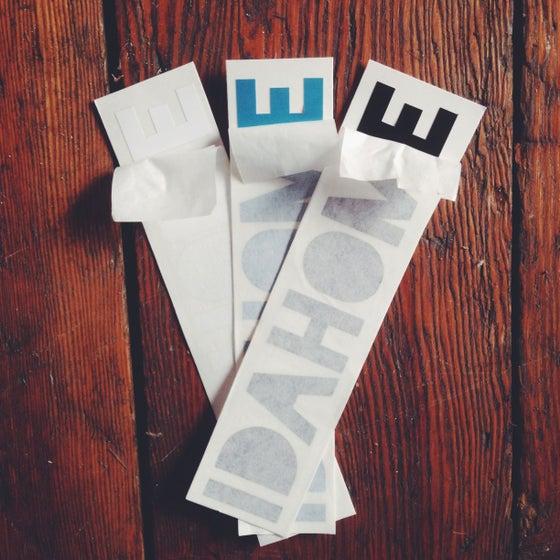 """Image of IDAHOME Die Cut Sticker- 6"""""""