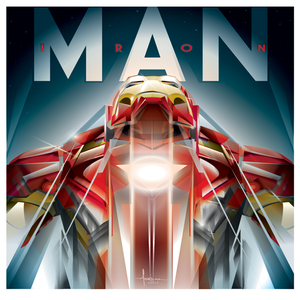 Image of IRONMAN-vector tribute
