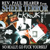 "Image of REV PAUL BEARER ""No Really, Go Fuck Yourself"" Vinyl LP"