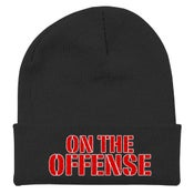 Image of ON THE OFFENSE Embroidered Winter Hat
