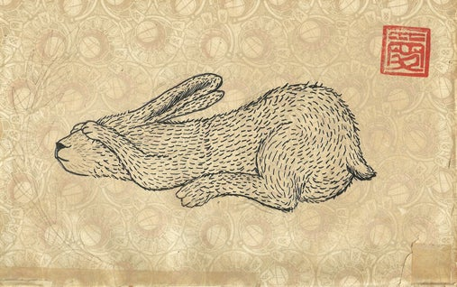 Image of Hidden Hare poster