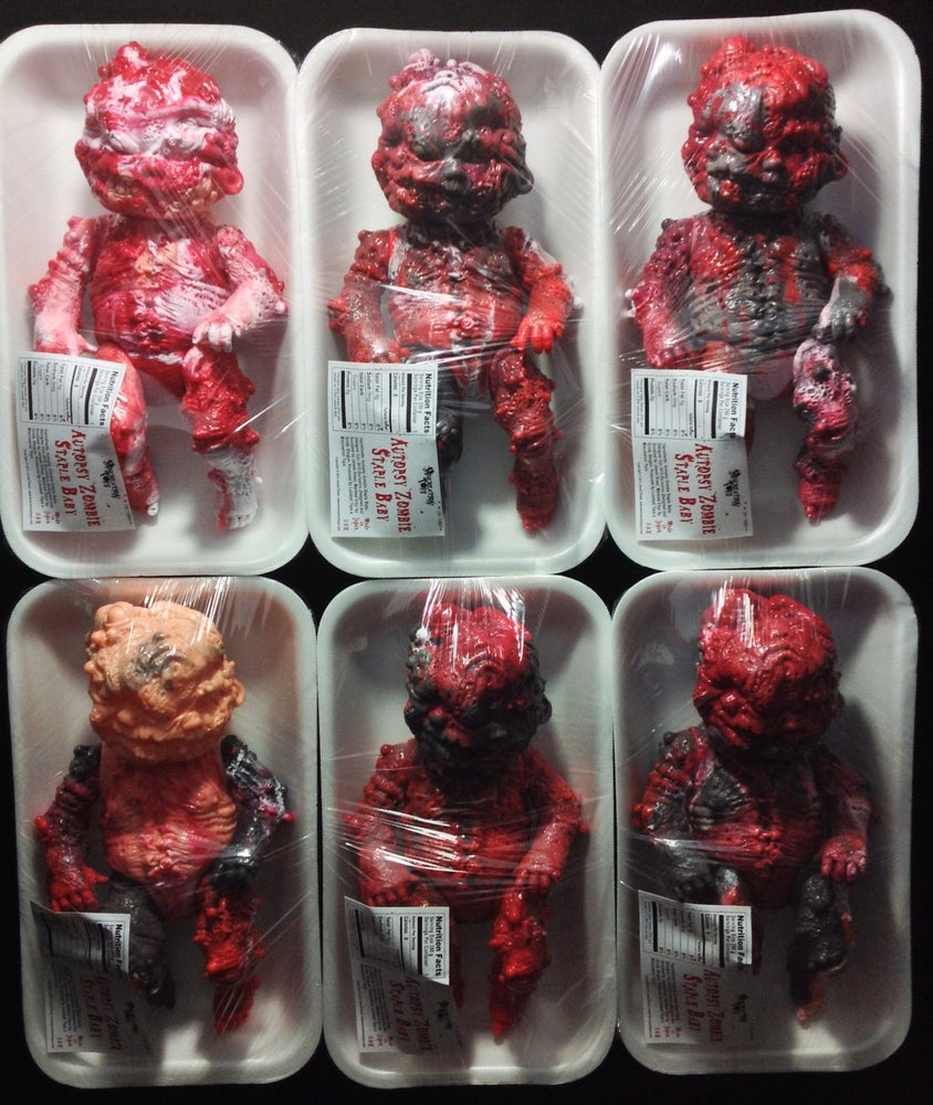 Image of Lunch Special! Autopsy Zombie Staple Baby Expired Meat Edition!