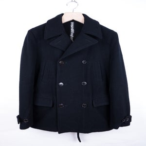 Image of Number (N)ine - FW07 Nub Wool Melton Peacoat