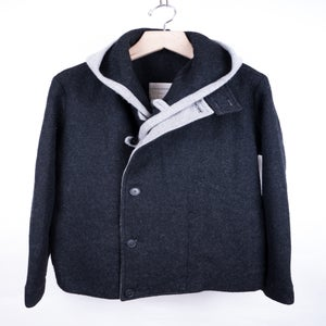 Image of Stephan Schneider - Fleece Wool Layered Armenian Jacket