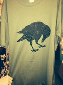 Image of Army green blck oak crow Large