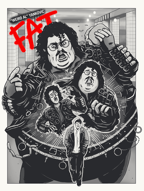 Image of 'Weird Al FAT' Print