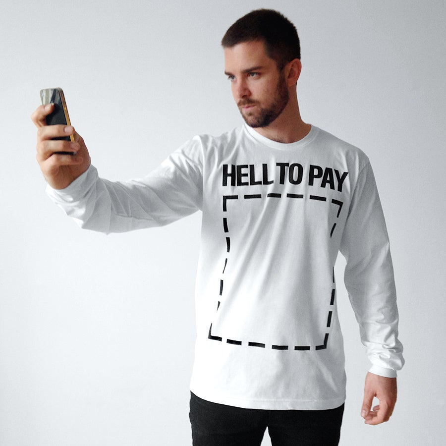 Image of HELL TO PAY Long-Sleeve T-Shirt