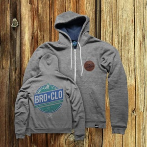 Image of BROCLO Mountain Rescue Hoodie Grey
