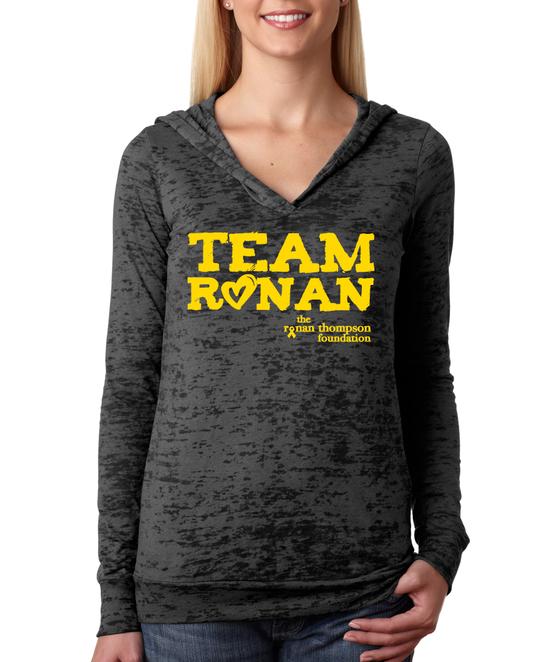 Image of Team Ronan Burnout Hoodie