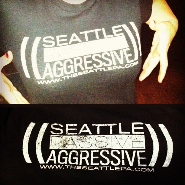 Image of Seattle Passive Aggressive T-Shirt