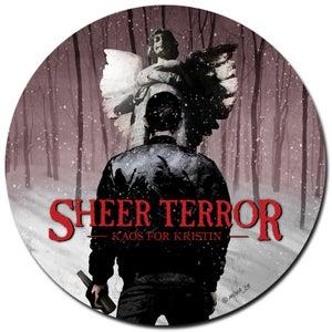 "Image of SHEER TERROR ""Kaos For Kristin"" 7"" Picture Disc Vinyl"