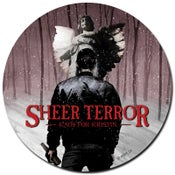 """Image of CANCER BENEFIT SPECIAL - SHEER TERROR """"Kaos For Kristin"""" 7"""" Picture Disc Vinyl"""