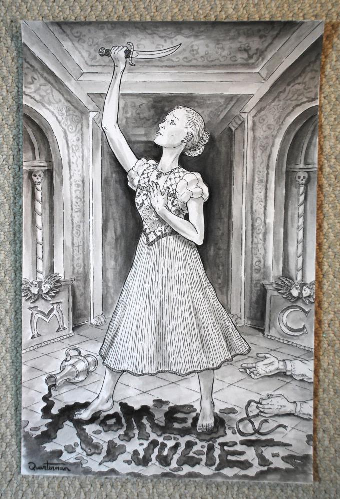 Image of Romeo & Juliet ORIGINAL painting