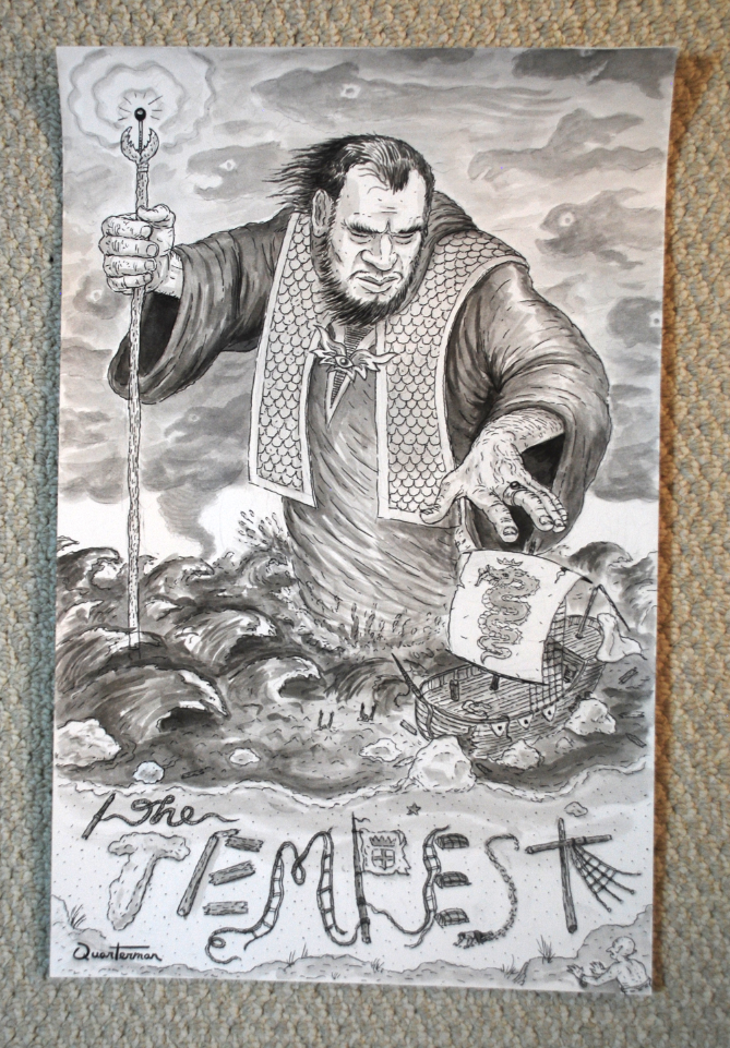 Image of The Tempest ORIGINAL painting