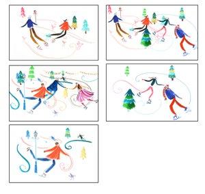 Image of Christmas Skate Cards