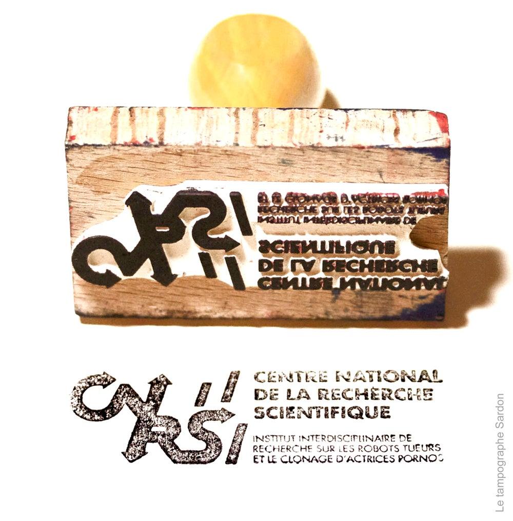 Image of tampon CNRS
