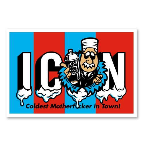 Image of Icon Icee Poster
