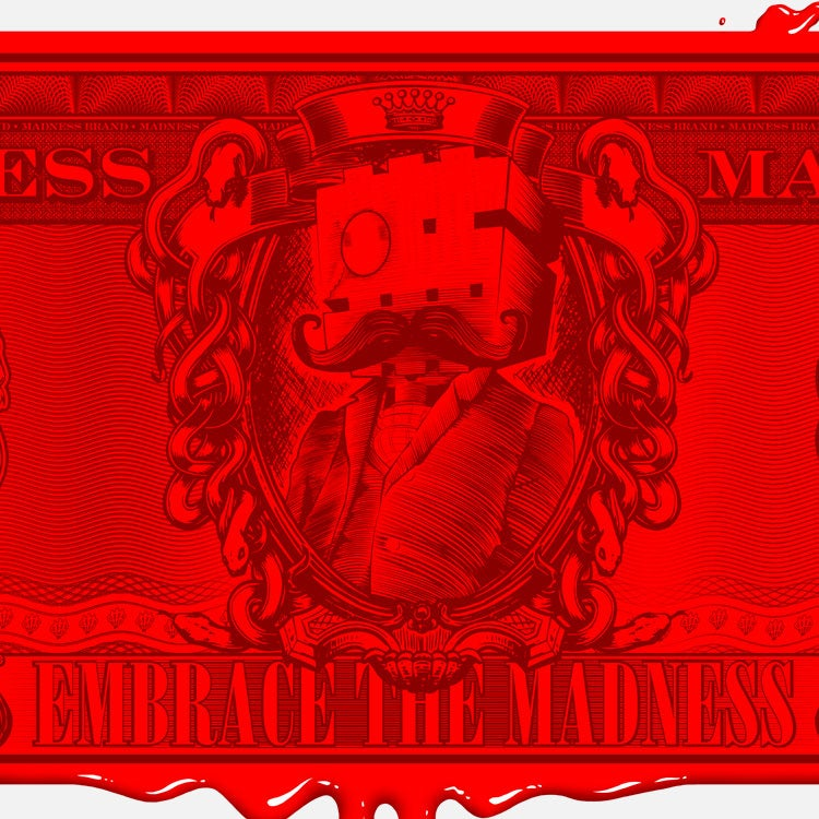 Image of Madness $13 Blood Money Print