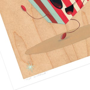 "Image of ""Hot Buttered"" giclee print"
