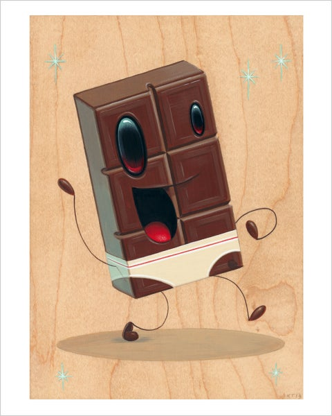 "Image of ""Tasty"" giclee print"