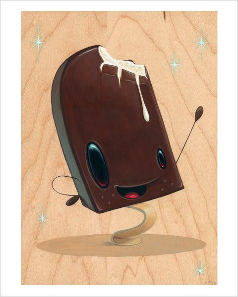 "Image of ""Sweet Creamy"" giclee print"