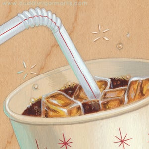 "Image of ""Refreshing"" giclee print"