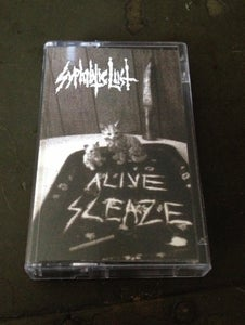 Image of BHRO6- SYPHILITIC LUST - ALIVE SLEAZE CASSETTE