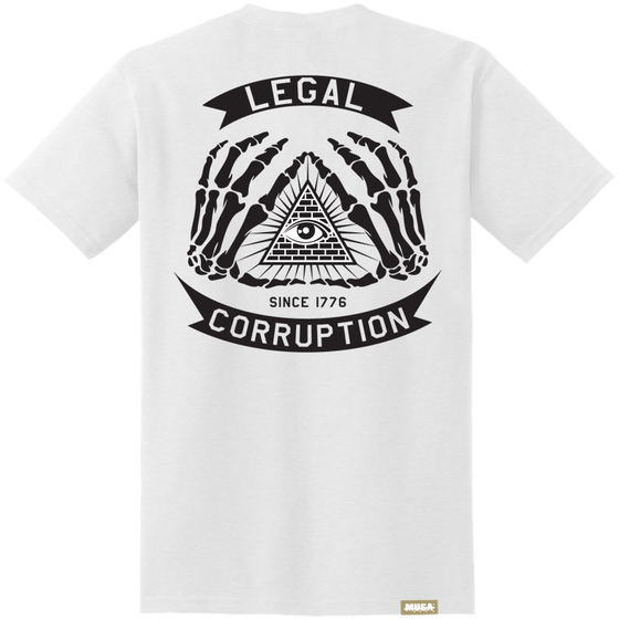 Image of LEGAL CORRUPTION - WHITE