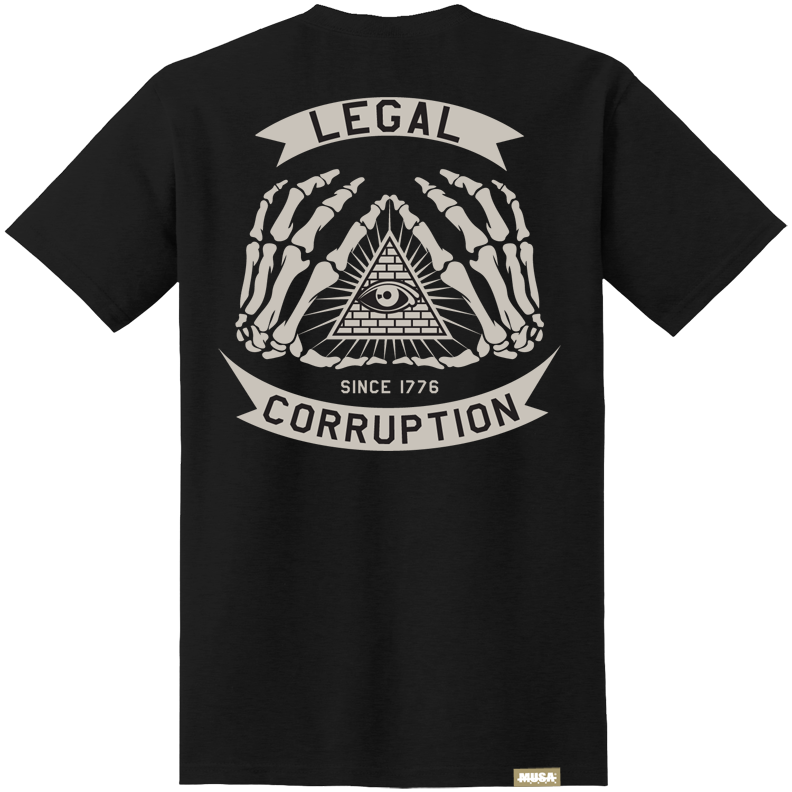 Image of LEGAL CORRUPTION - BLACK