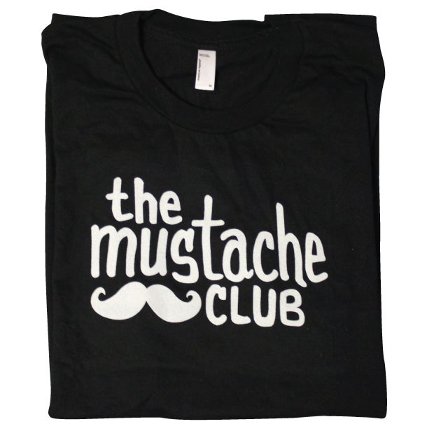 Image of The Mustache Club OG Tee (Black)