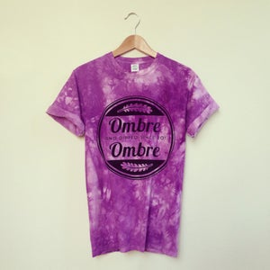 Image of Purple Marble Logo Tee