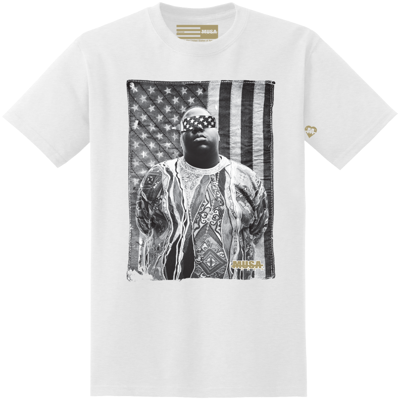 Image of FREE BIGGIE - WHITE