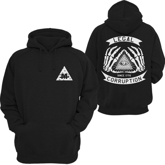 Image of LEGAL CORRUPTION HOODIE