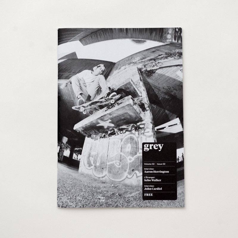 Image of grey skate mag volume 02 issue 02