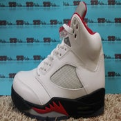 "Image of AIR JORDAN 5 ""FIRE RED"""