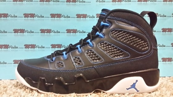 "Image of AIR JORDAN 9 ""Photo Blue"""