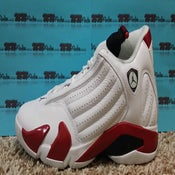 "Image of AIR JORDAN 14 ""Candy Cane"""