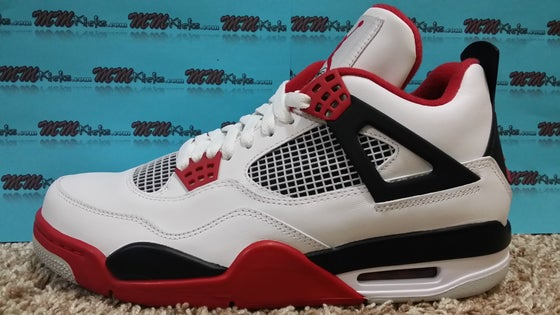 "Image of AIR JORDAN 4 ""Fire Red"""
