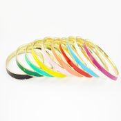 Image of NEW!! Enameled Bangles
